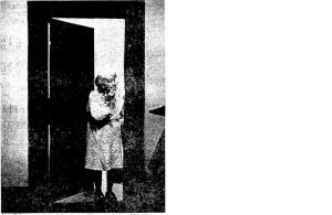Eva Jordan, one of the Prince Building's last tenants, 1977 (courtesy State Journal-Register)