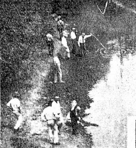 Volunteers search for Colegrove's body
