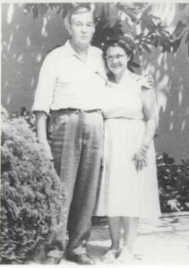 Bryan and Veva Bolton in California, 1950s (Bolton family photo)