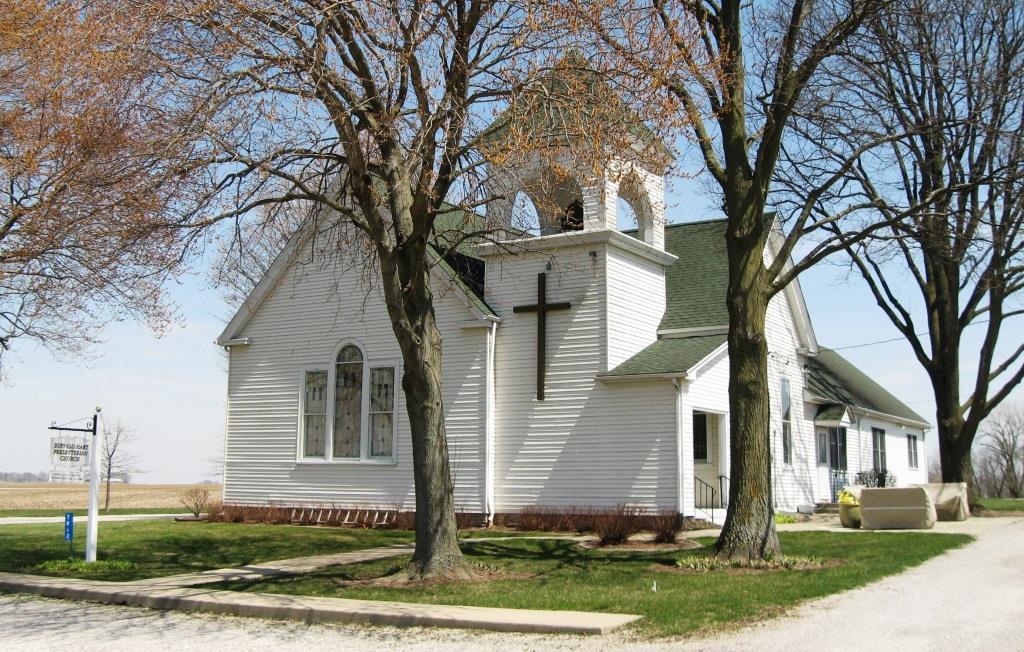 Buffalo Hart Presbyterian Church, spring 2018 (SCHS)