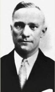 """Fred Goetz, aka """"Shotgun"""" George Ziegler, 1925"""