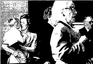 Janice Kennedy holds her son Thomas, then 3, during a church service in 1993. As of 2018, Janice Kennedy Wray was treasurer of Buffalo Hart Presbyterian Church. (Photo courtesy State Journal-Register)