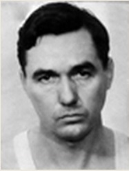 Mug shot of Bryan Bolton taken after his arrest in 1935 (FBI)