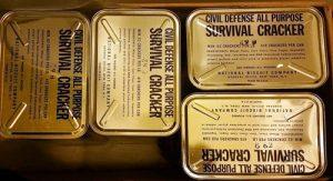 Boxes of Civil Defense crackers