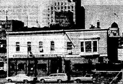 The Washington Street Mission was on Eighth Street for 50 years. (Courtesy SJ-R)