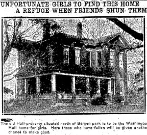 "The Illinois State Register's photo that accompanied the announcement of Washington Hall, Nov. 22, 1922. The caption incorrectly calls the site ""the Hall property."" The writer meant ""the Colby property."" Courtesy State Journal-Register"