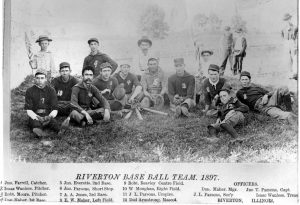 1897 Riverton baseball team (Sangamon Valley Collection)